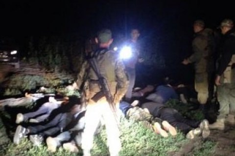 Прикордонники затримали 13 українців під час спроби перетнути кордон з Росією