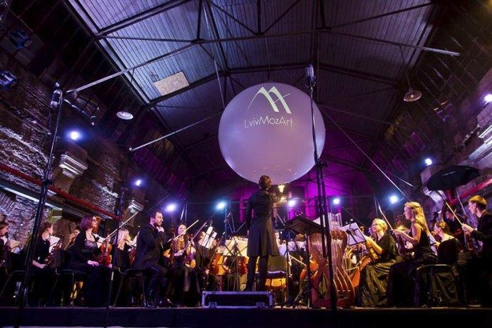 Концерт-презентацiя LVIVMOZART у трамвайному депо, 2017