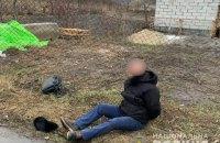 У Київській області чоловік погрожував револьвером поліцейським, які приїхали на його виклик