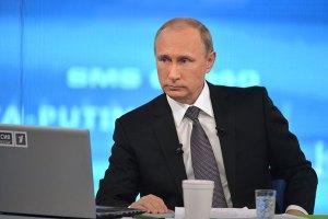 Путин не поздравил Порошенко и Маргвелашвили с годовщиной Победы