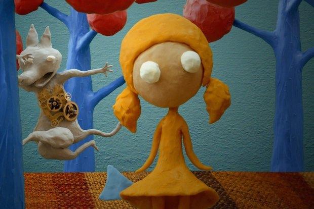 Кадр из фильма Девочка с рыбьим хвостом