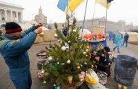 На Майдане Независимости в палатке откроют библиотеку