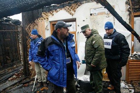 ОБСЄ: у Донецьку чотири житлові будинки постраждали від обстрілу