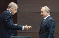 Эрдоган попросил Россию оставить ее один на один с сирийским режимом