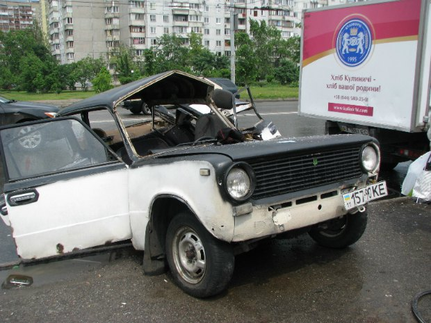 ДТП на проспекті Маяковського