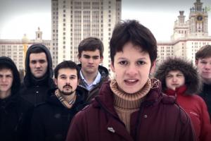 """У Москві студенти зірвали лекцію лідера російського руху """"Антимайдан"""""""