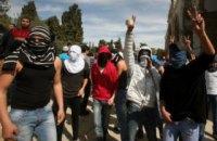 Израильские военные применили против протестующих палестинцев оружие