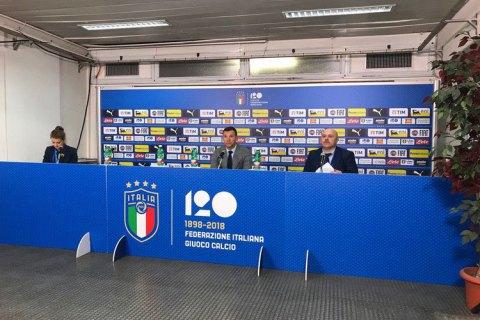 Шевченко выразил удовлетворение игрой сборной Украины в матче с итальянцами