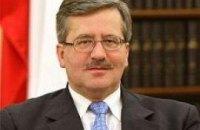 Коморовский побеждает на президентских выборах в Польше