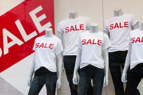 Український бізнес робить ставки на розпродажі та знижки