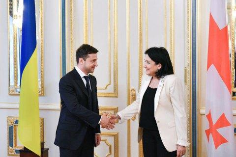 Президент Грузії: ми повинні об'єднати позиції України і Грузії за курсом на євроінтеграцію