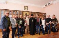 Епіфаній зустрівся зі звільненими бранцями Кремля