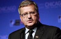 Коморовский считает, что евроинтеграция для Украины еще не потеряна