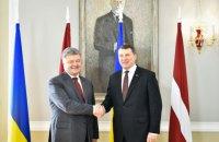Президент Латвии посетит Донбасс