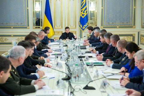 Зеленський збирає засідання РНБО перед його зустрічами в нормандському форматі