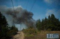 Боевики обстреливают Счастье из дальнобойных пушек