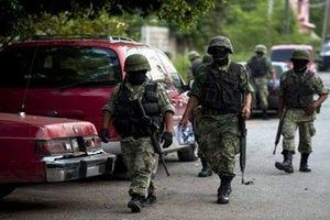 33 мексиканских военных случайно вторглись в США