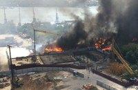 В Ростове-на-Дону из-за пожара введен режим ЧС (обновлено)