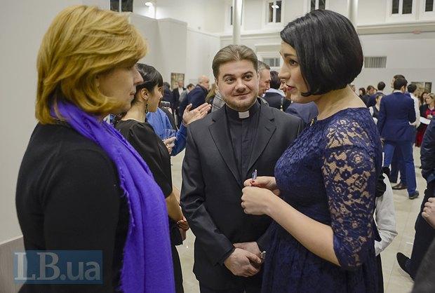 Ольга Богомолец, протоиерей Олег Скнарь, Соня Кошкина