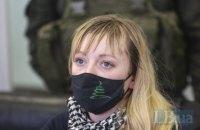 """Суд отпустил под домашний арест ветерана АТО """"Фортуну"""", подозреваемую в будто бы сотрудничестве с оккупантами"""