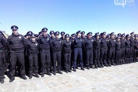 В Запорожье приняла присягу патрульная полиция