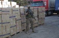 Силовики вилучили на Закарпатті найбільшу партію контрабандних цигарок в історії України