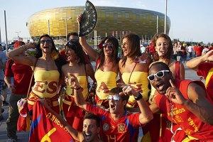 Донецк ожидает 10 тысяч испанских фанатов