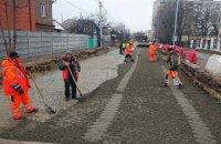 Благодаря теплой погоде в Киеве начались активные работы по ремонту дорог, - КГГА