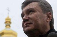 Янукович получил в дар икону