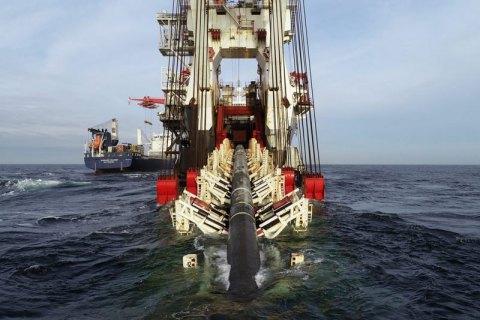 """""""Северный поток-2"""": российское судно начало работы в водах Дании"""