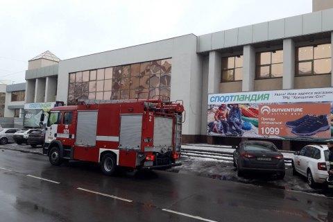 У Черкасах евакуювали торговий центр через пожежу в кафе
