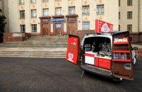 Киевским коммунальщикам разрешили убирать мобильные кофейни
