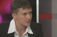 Савченко дала показания СБУ по поездке на оккупированный Донбасс