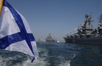 Російські військові провели навчання з перекидання техніки через Донузлав у Криму