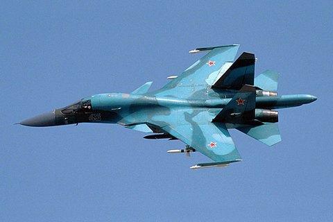 На Дальнем Востоке столкнулись два российских военных самолета Су-34
