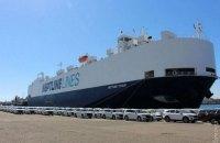 В Україну доставлено 635 Mitsubishi Outlander для поліції