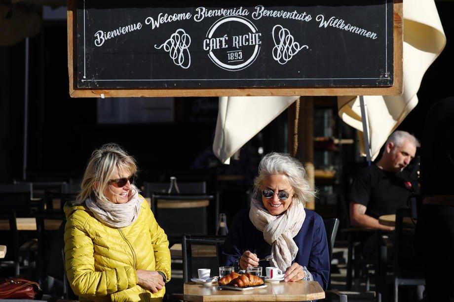 Відкриття терас ресторанів і барів у Монпельє, Франція, 18 травня 2021 року