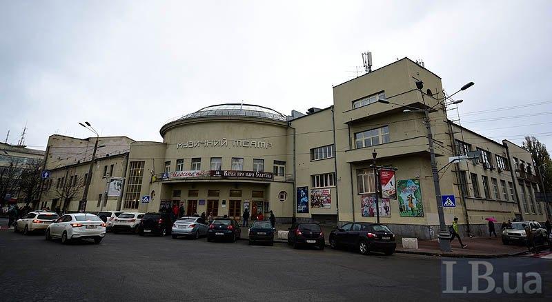 Сьогодні Дитячий музичний театр на Подолі