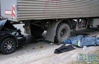 На Троещине мужчина погиб в ДТП из-за того, что проигнорировал подземный переход