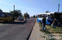 В Одеській області зіткнулися дві маршрутки з пасажирами