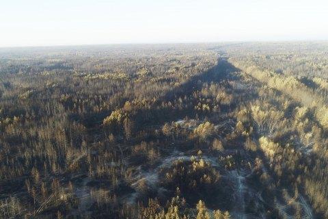 Волинська область: рятувальники ліквідували 4 загорання сухої трави та продовжують гасити пожежу торфу у Любешівському районі