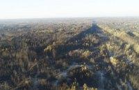 На Луганщині у трьох осередках продовжує тліти деревина