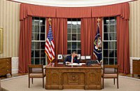 Овальный кабинет президента США закроют на ремонт на целый год