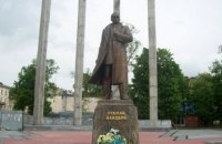 Неизвестный сообщил о минировании памятника Бандере во Львове