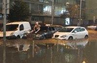 """КГГА: Ущерб за утопленные авто должны возместить страховые компании, а не мэрия или """"Киевавтодор"""""""