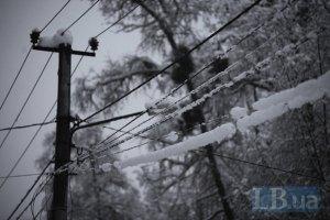 Непогода обесточила почти 500 населенных пунктов