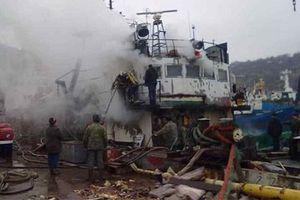 В Севастополе прогремел взрыв на судне, есть пострадавшие