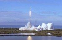 SpaceX запустила в космос ракету з новим стикувальним вузлом для МКС