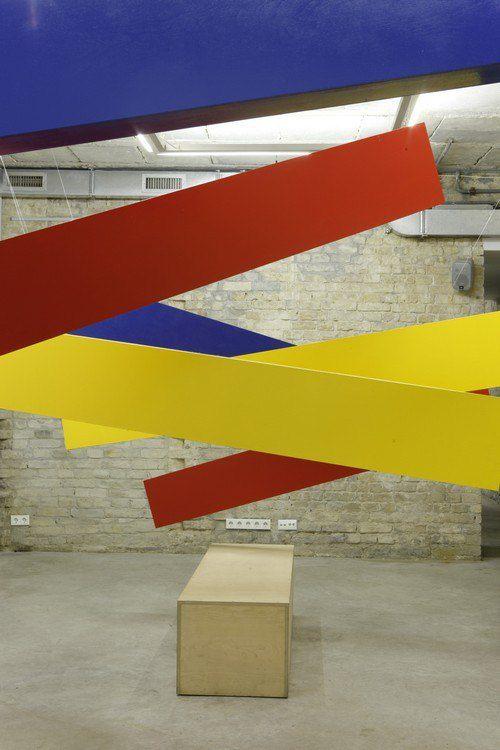 Тіберій Сільваші, вигляд експозиції Обрамлення в арт-центрі Я Галерея, 2012