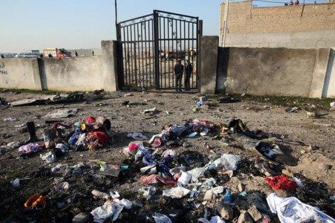 """Пять стран требуют от Ирана передать """"черные ящики"""" сбитого самолета МАУ"""